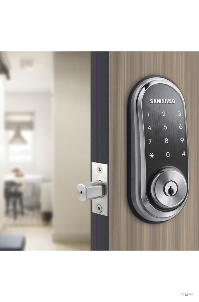 Врезной электронный дверной замок Samsung SHP-DS510, фото 2