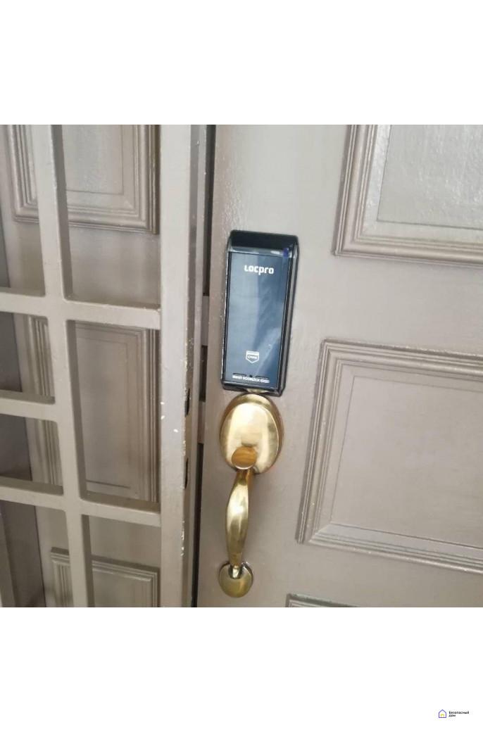 Накладной электронный дверной замок LocPro K100B2 Series Digital Door Lock, фото 6