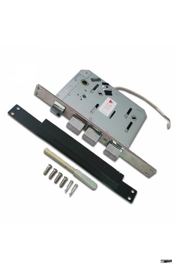 Врезной электронный дверной замок LocPro K500B4GF Series Digital Door Lock с отпечатком пальца, фото 4