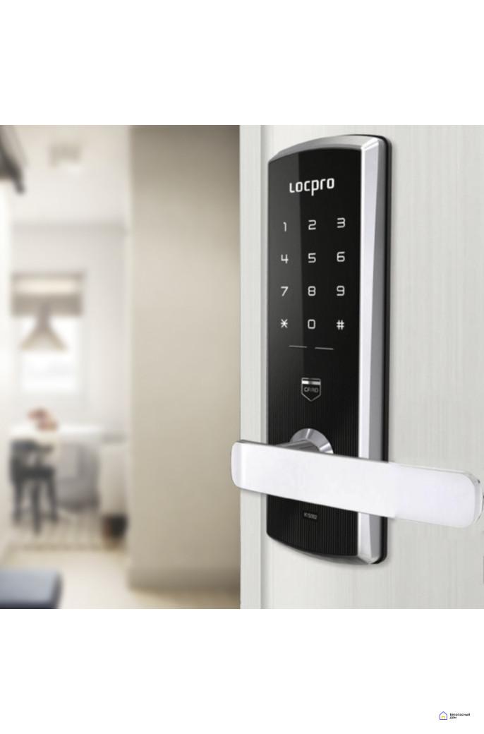 Врезной электронный замок LocPro K150B3 Series Digital Door Lock, фото 2