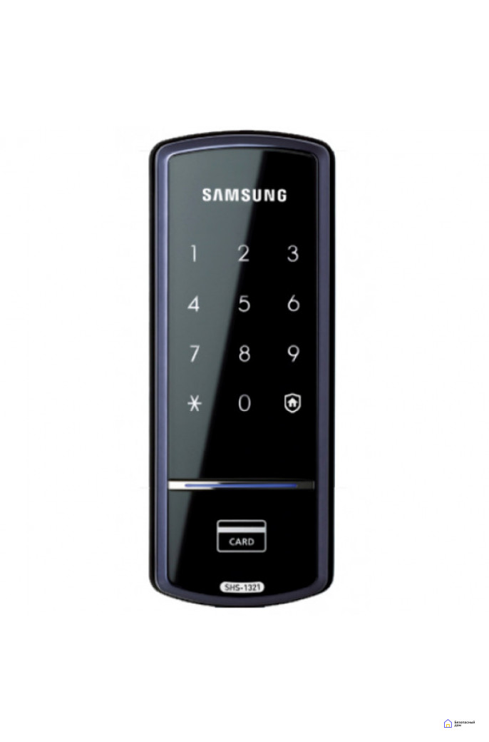 Накладной электронный дверной замок Samsung SHS-1321, фото 3