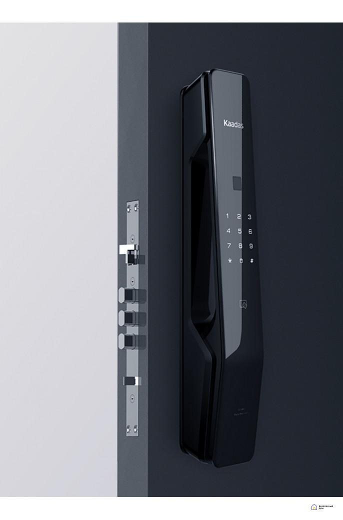 Электронный дверной замок Kaadas KX-T Black, фото 4