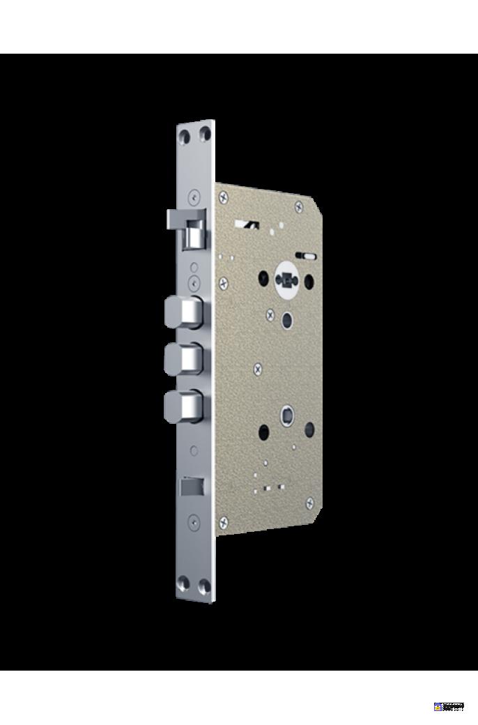 Врезной электронный дверной замок Kaadas KX-T Black с отпечатком пальца, фото 4
