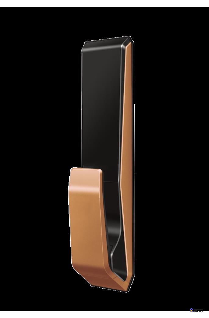 Врезной электронный дверной замок LocPro K500B4GF Series Digital Door Lock с отпечатком пальца, фото 3
