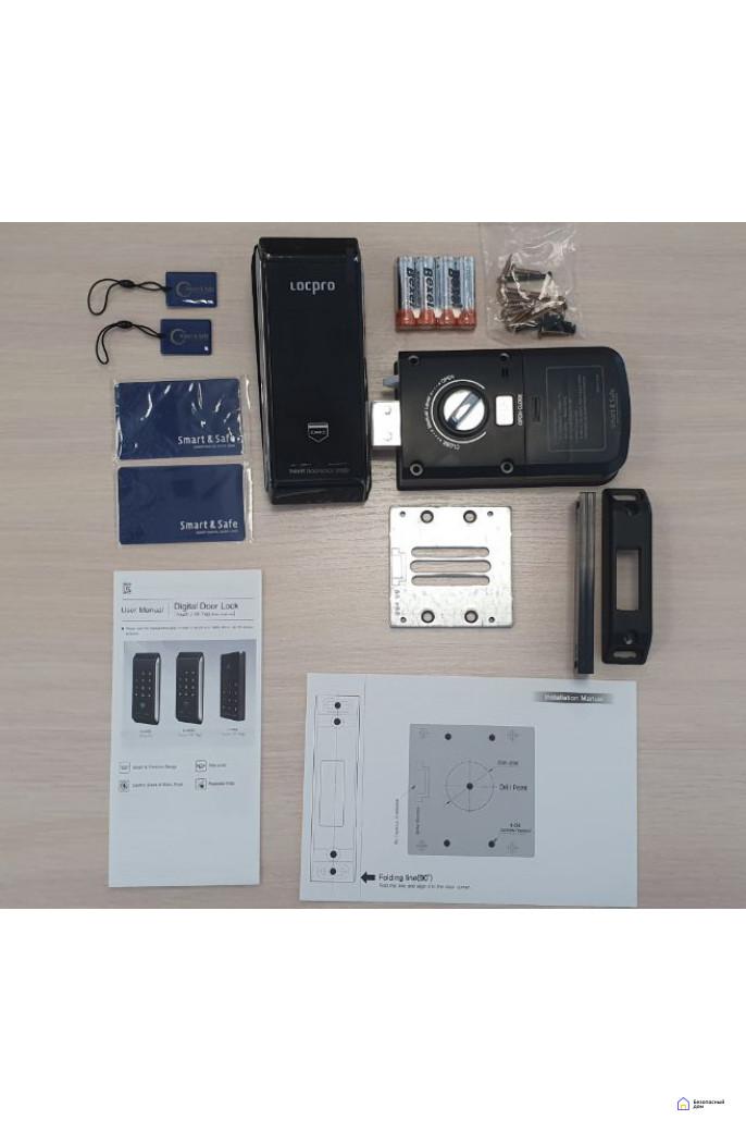 Накладной электронный дверной замок LocPro K100B2 Series Digital Door Lock, фото 4