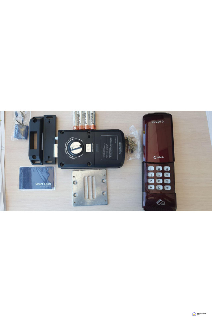 LocPro C50R2 Series Red Digital Door Lock, фото 4