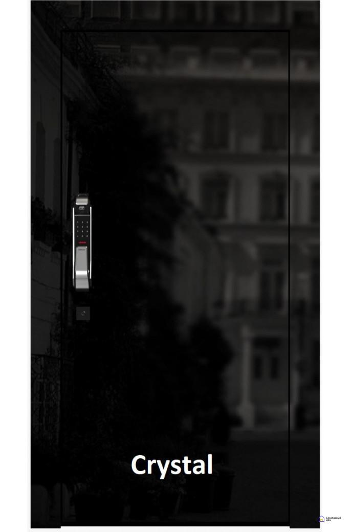 Умная дверь Domino Custom Crystal Smart, фото 1