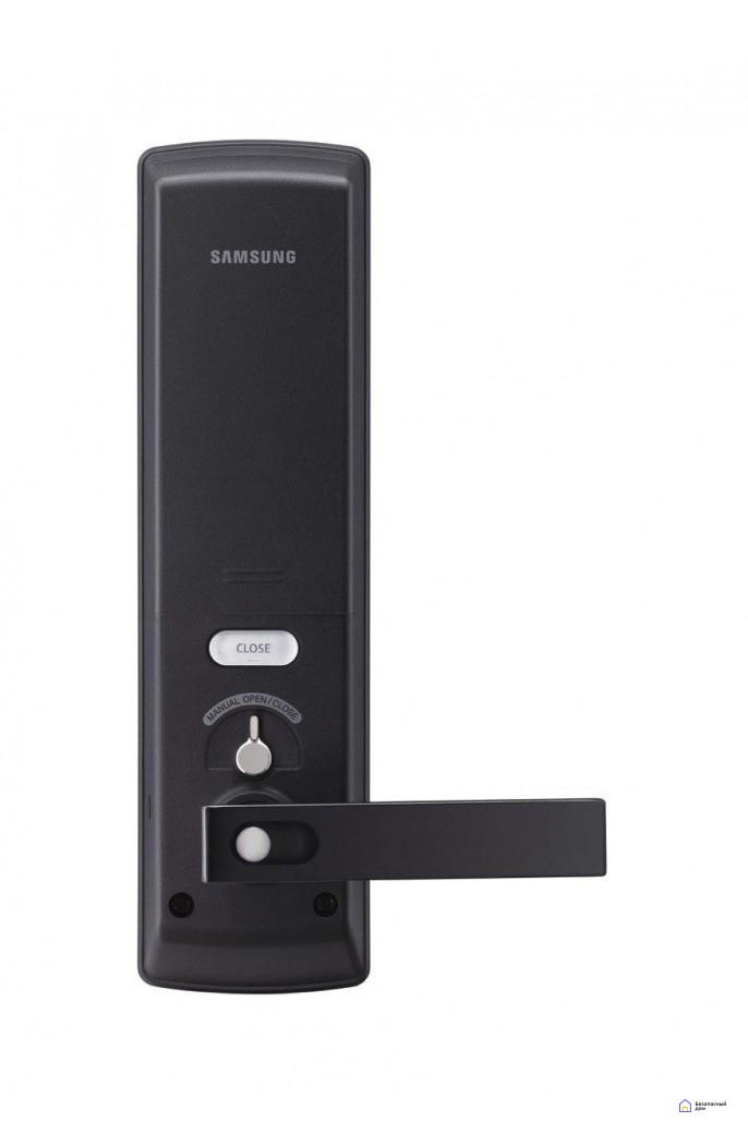 Врезной электронный дверной замок Samsung SHP-DH538 Black с отпечатком пальца, SHP-DH538MU/VK, фото 8