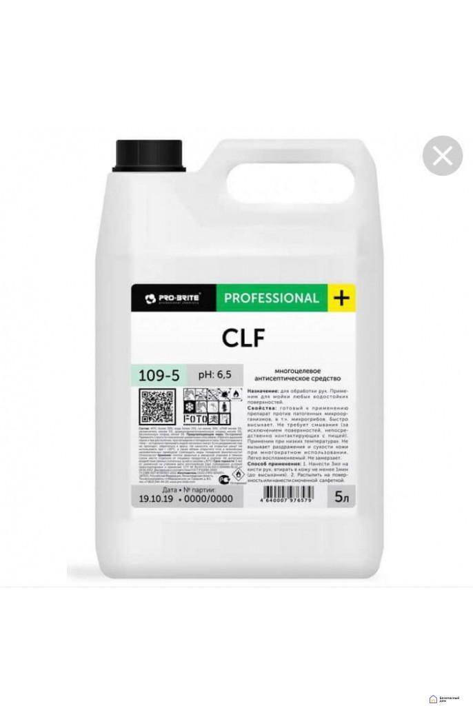 Антисептическое сред-во CLF 109-5 pH 6.5 (5 литров), фото 1