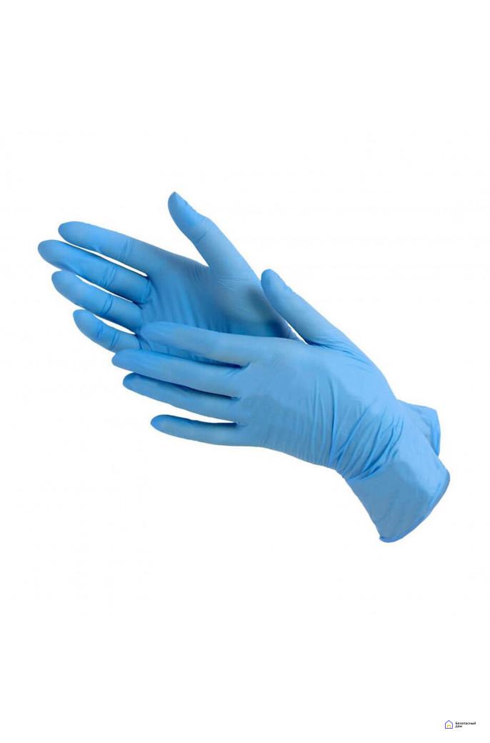 Перчатки нитриловые Benovy Nitrile Chlorinated  размер M, фото 1