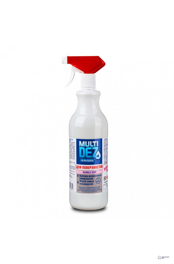«МультиДез-Тефлекс для дезинфекции и мытья поверхностей» (с триггером), 500 мл, фото 3