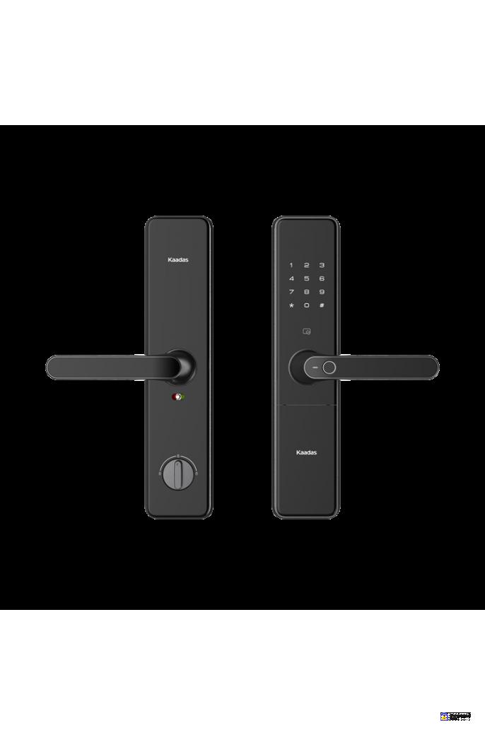 Врезной электронный дверной замок Kaadas S500 с отпечатком пальца, фото 4