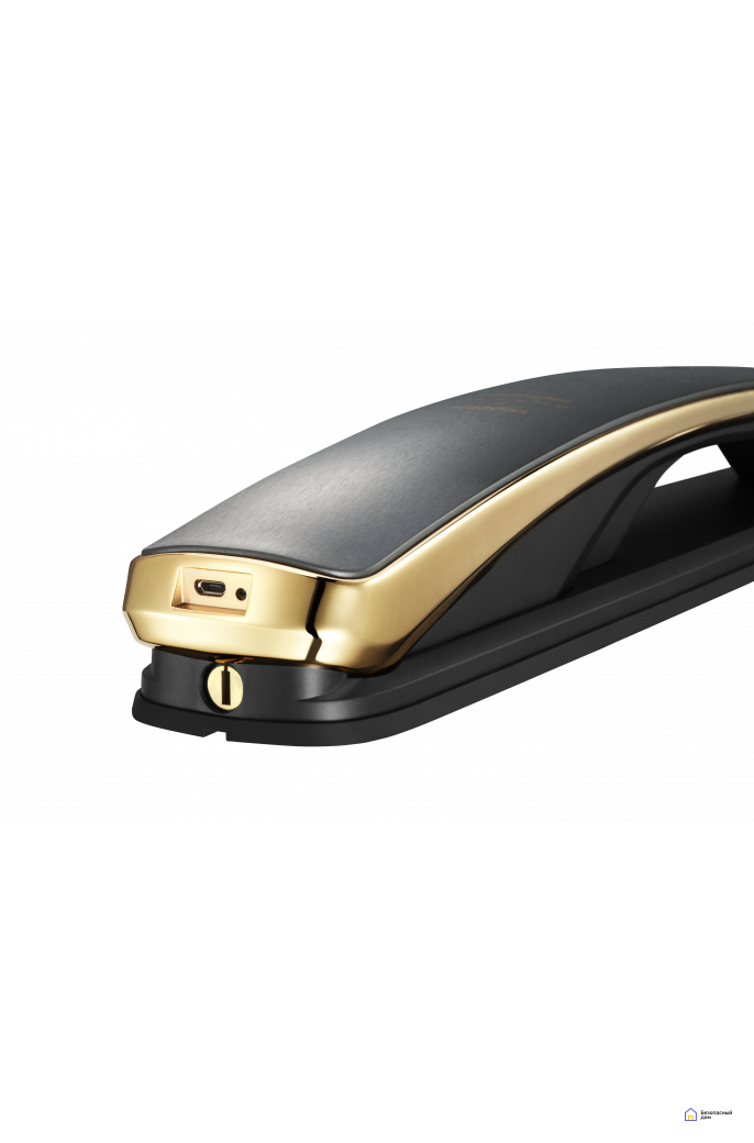 Биометрический дверной замок Kaadas Х Lamborghini gold, фото 5