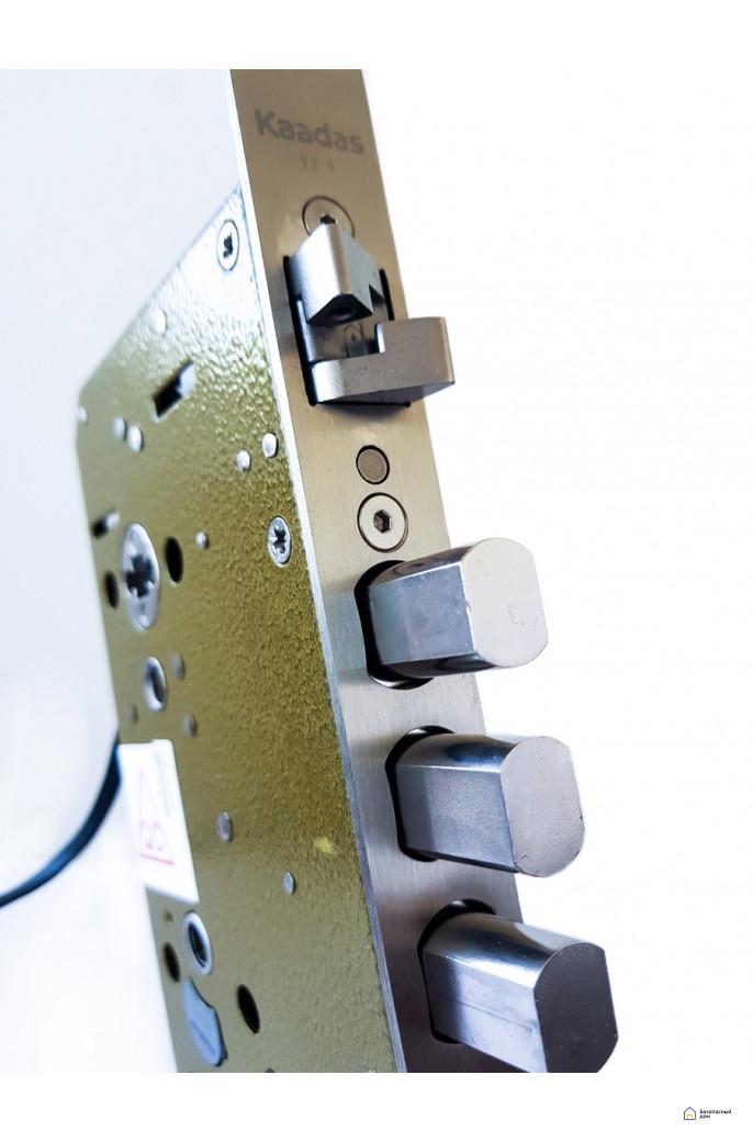 Врезной электронный дверной замок Kaadas K9 Black с отпечатком пальца, фото 9