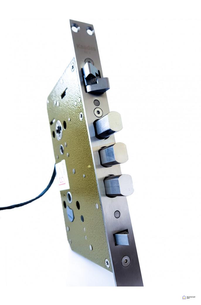 Врезной электронный дверной замок Kaadas K9 Black с отпечатком пальца, фото 8