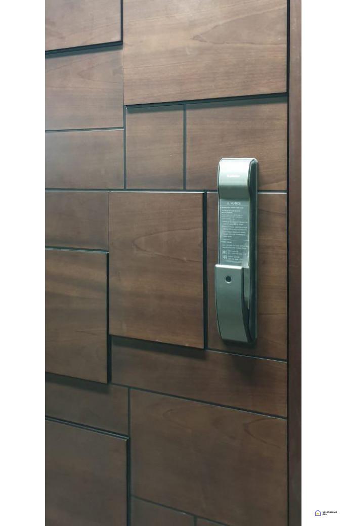 Врезной электронный дверной замок Kaadas K9 Black с отпечатком пальца, фото 7