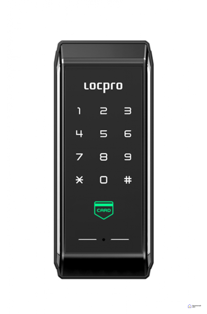 Накладной электронный дверной замок LocPro K100B2 Series Digital Door Lock, фото 1