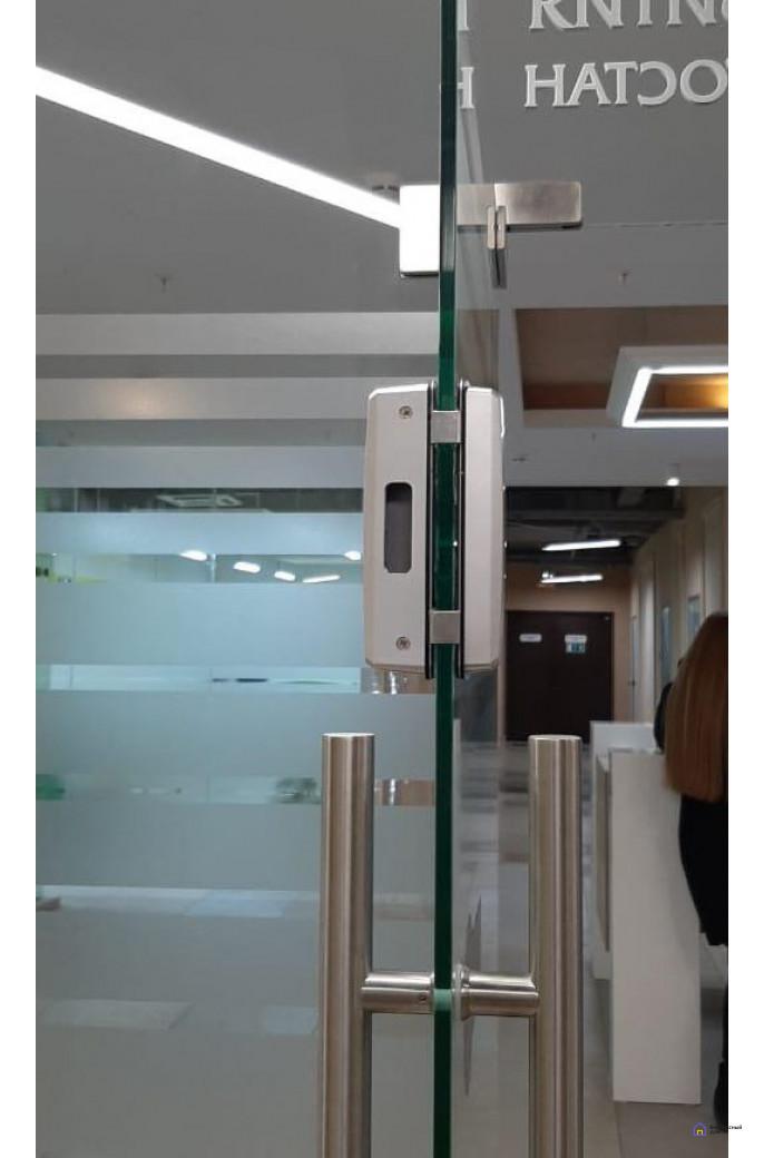Ответная часть для двойных дверей LocPro TD100 без монтажных пластин, фото 3