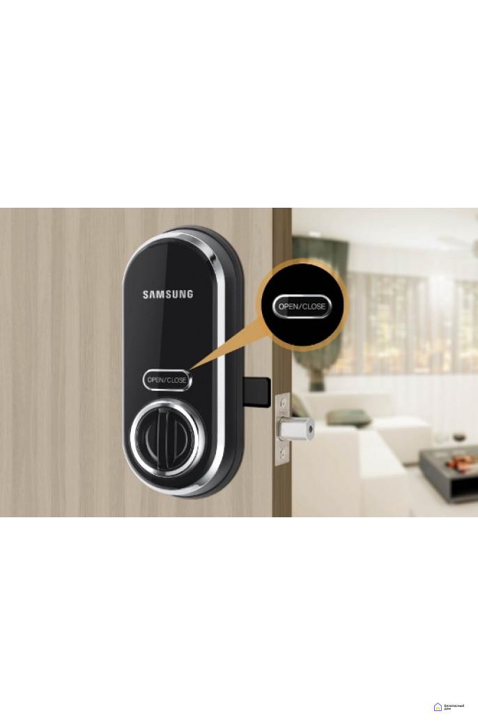 Врезной электронный дверной замок Samsung SHP-DS510, фото 3