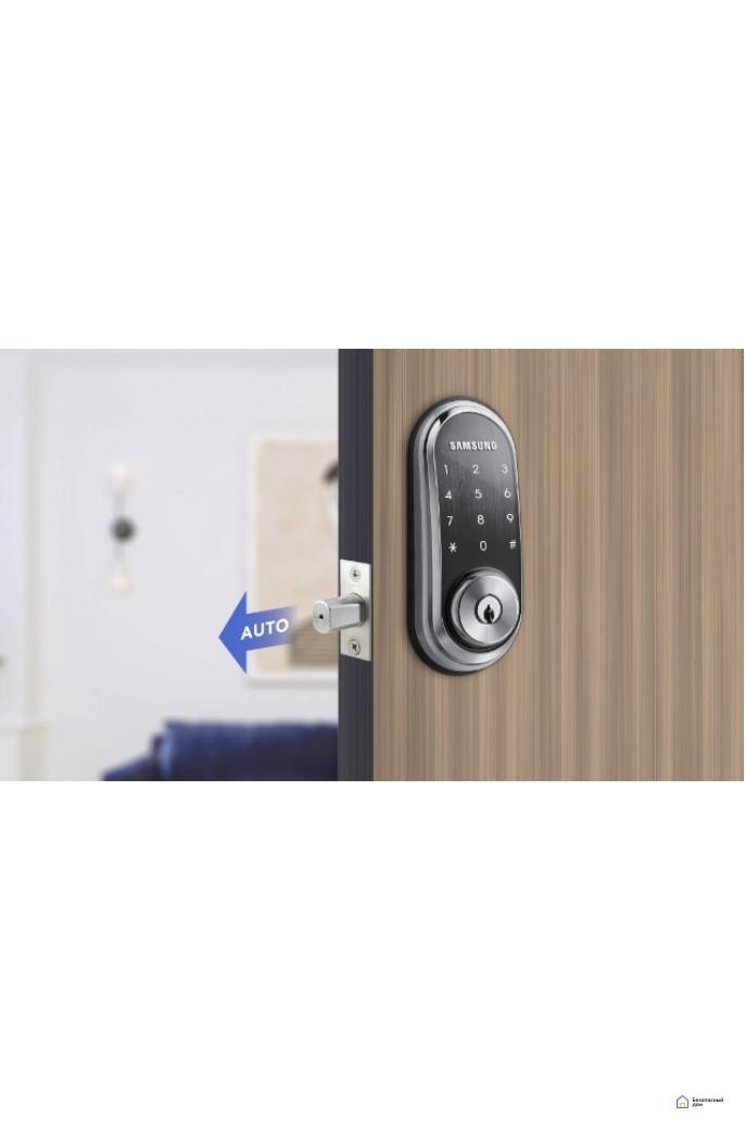 Врезной электронный дверной замок Samsung SHP-DS510, фото 6