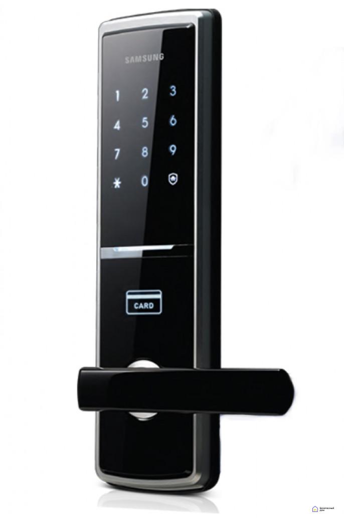 Врезной электронный дверной замок Samsung SHS-H625/5120, фото 1