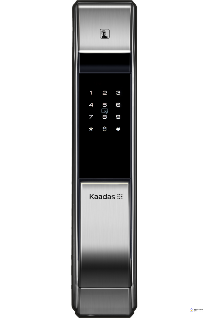 Электронный дверной замок Kaadas K7 silver, фото 1