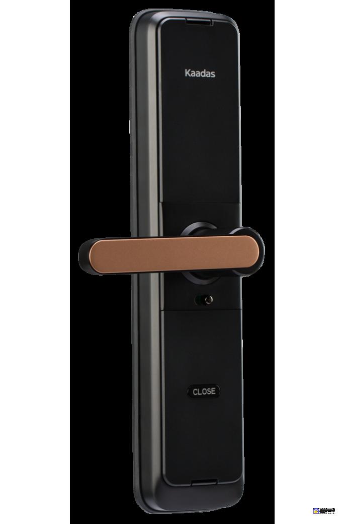 Врезной электронный дверной замок Kaadas L7 Gold с отпечатком пальца, фото 3