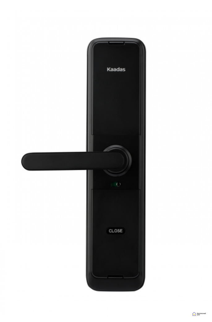 Врезной электронный дверной замок Kaadas L7 Black с отпечатком пальца, фото 2