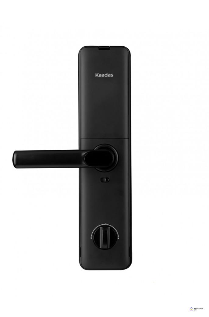 Врезной электронный дверной замок Kaadas S8 Black с отпечатком пальца, фото 3