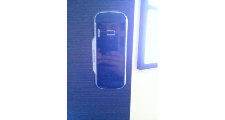 Монтаж электронного замка Samsung SHS-G517Z на деревянную дверь